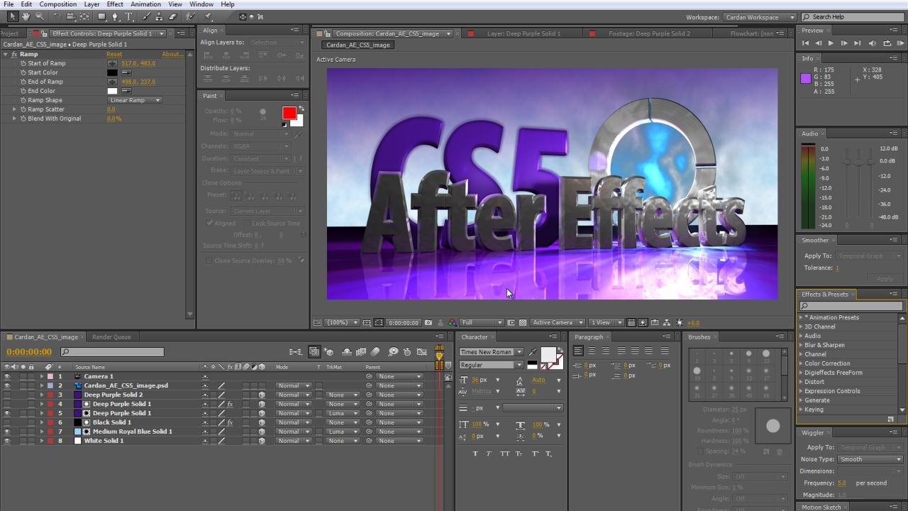 adobe after effects cs5 manual