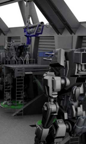 Tecnologia de los efectos visuales y la animacion 3D