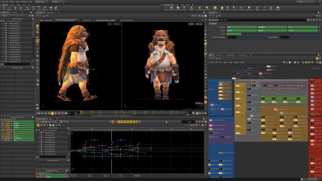 cual es el mejor software de animacion 3d